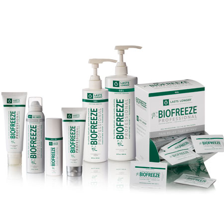 Biofreeze Professional Banner Therapy Asheville NC