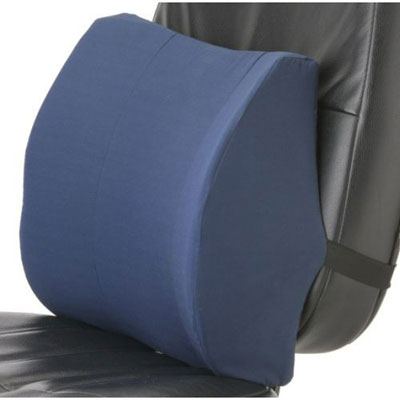 Memory Foam Lumbar Cushion Banner Therapy