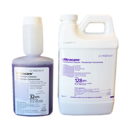 Ultracare Disinfectant Banner Therapy Asheville NC
