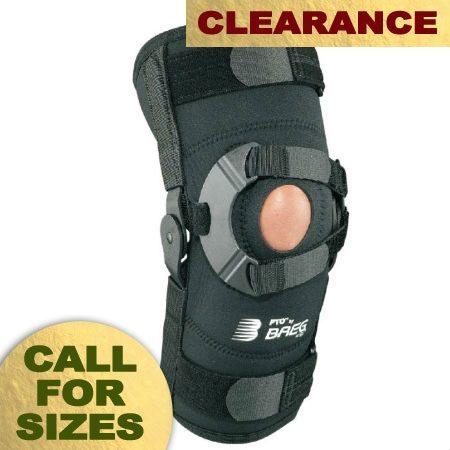 Breg PTO Knee Sleeve - Open Back - Airmesh