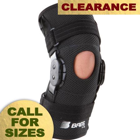 Breg Shortrunner Knee Sleeve - Open Back - Airmesh