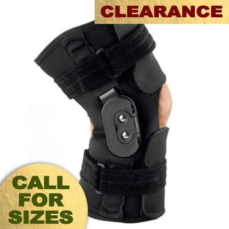 Breg Shortrunner Knee Wrap - Post-Op - OB Neoprene