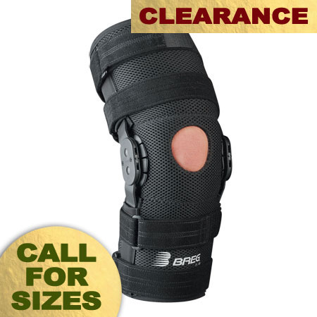 Breg Roadrunner Knee Sleeve - Open Back - Airmesh