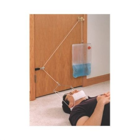 Supine C Trax Intermittent Cervical Traction System