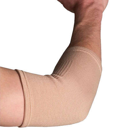 Thermoskin Elastic Elbow Support Banner Therapy Asheville WNC