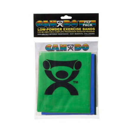 CanDo Pep Pack Resistance Bands Banner Therapy Asheville NC