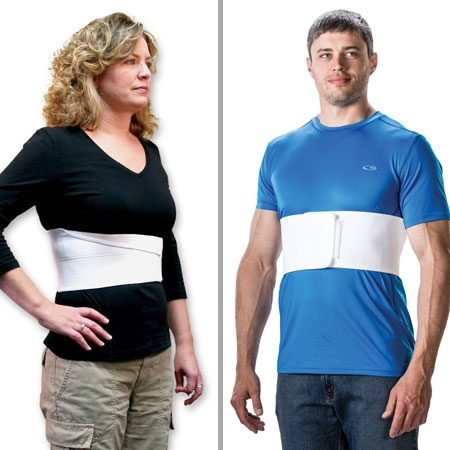 Male Female Rib Belt Banner Therapy Asheville NC