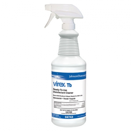Virex TB Disinfectant Banner Therapy Asheville NC